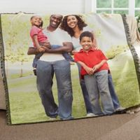 Picture It! Family Woven Throw Blanket