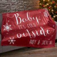 Christmas Quotes Fleece Blanket