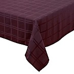 Origins™ Microfiber 60-Inch x 84-Inch Oblong Tablecloth in Eggplant