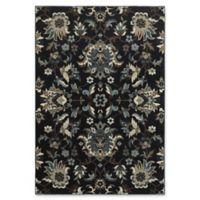 Oriental Weavers Linden Floral 5'3 x 7'6 Indoor/Outdoor Area Rug in Navy