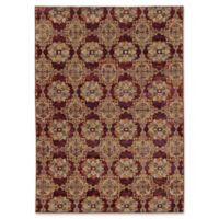 Oriental Weavers Andorra Floral Medallion 8'6 x 11'7 Area Rug in Red