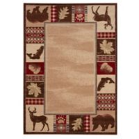 Balta Home Medford Lakes 7'10 x 10' Multicolor Area Rug