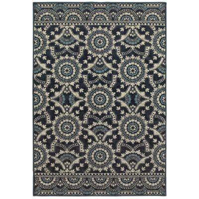 Oriental Weavers Linden Medallions 3u002710 X 5u00275 Indoor/Outdoor Area Rug