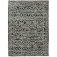 Oriental Weavers Andorra Distressed 8'6 x 11'7 Area Rug in Blue