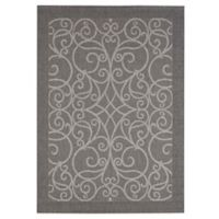 Balta Home Newark 7'10 x 10' Indoor/Outdoor Area Rug in Grey