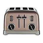 Cuisinart® Stainless Steel 4-Slice Toaster in Umber