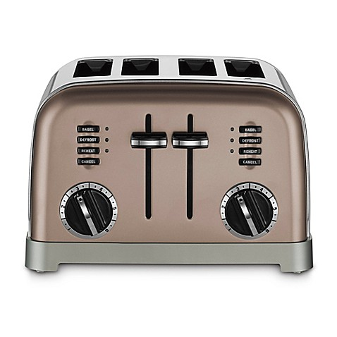 Cuisinart 174 Stainless Steel 4 Slice Toaster Bed Bath Amp Beyond