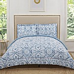 Truly Soft Marcello 3-Piece King Comforter Set in Blue