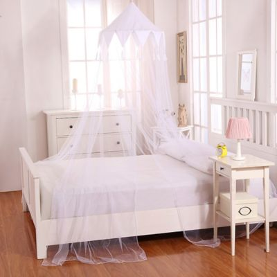 Casablanca Kids Harlequin Bed Canopy in White & Buy Canopy Bed Tops Accessories from Bed Bath u0026 Beyond