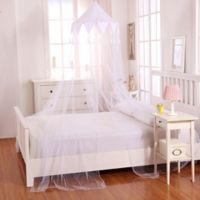 Casablanca Kids Harlequin Bed Canopy in White
