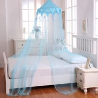 Casablanca Kids Harlequin Bed Canopy in Blue