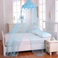 Casablanca Kids Harlequin Bed Canopy in Blue