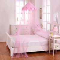 Casablanca Kids Harlequin Bed Canopy in Pink