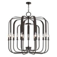 Livex Lighting® Addison 15-Light Foyer Chandelier in English Bronze