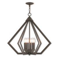 Livex Lighting, Inc. Prism 6-Light Chandelier in Bronze