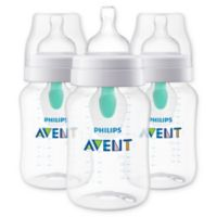 Philips Avent 3-Pack 9 oz. Wide-Neck Anti-Colic Bottle with Insert