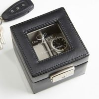 A Time For Love Leather 2-Slot Watch Box