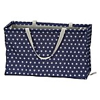 Household Essentials® Krush Rectangle Hamper Tote Bag in Blue