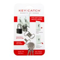 KeySmart® KeyCatch™ 3-Pack Magnetic Key Hanger