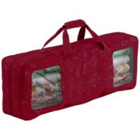 Classic Accessories® Seasons Wrapping Supplies Organizer & Storage in Red