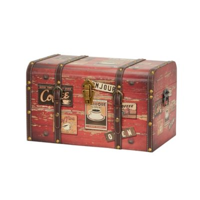 Household Essentials® Decorative Home Storage Trunk