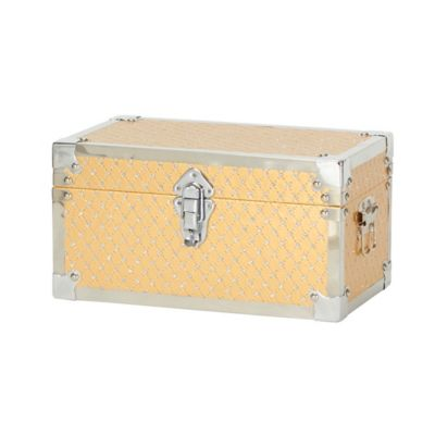 Household Essentials® Small Bling Decorative Storage Box in Gold  sc 1 st  Bed Bath u0026 Beyond & Buy Small Decorative Storage Boxes from Bed Bath u0026 Beyond