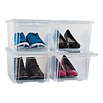 Rubbermaid® All Access Shoeboxes (Set of 4)