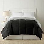 Pacific Coast® Textiles Down Alternative Reversible King Comforter in Black/Silver