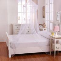 Casablanca Kids Raisinette Bed Canopy in White