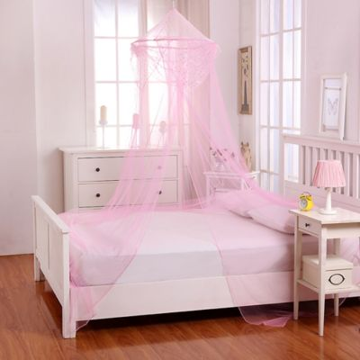 Casablanca Kids Raisinette Bed Canopy in Pink & Buy Hanging Canopy from Bed Bath u0026 Beyond