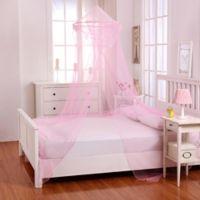 Casablanca Kids Raisinette Bed Canopy in Pink