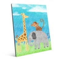 "Astra Art ""Animal Buddies"" 11-Inch x 14-Inch Acrylic Wall Art"