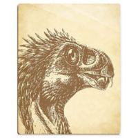 "Astra Art ""Beipiaosaurus"" 11-Inch x 14-Inch Acrylic Wall Art"