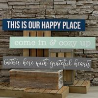 Home Expressions Wooden Sign