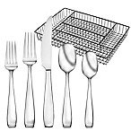 Oneida® Jonas 50-Piece Flatware Set with Caddy