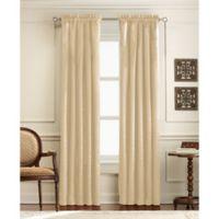 Mercato 63-Inch Rod Pocket Window Curtain Panel in Ivory