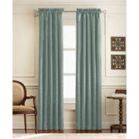 Mercato 63-Inch Rod Pocket Window Curtain Panel in Peacock