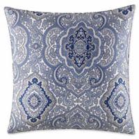 City Scene Milan Oblong Throw Pillow in Blue