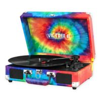 Victrola™ 3-Speed Bluetooth® Suitcase Record Player in Tie-Dye