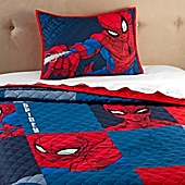 Marvel® Spiderman 2-Piece Twin/Full Quilt Set - Bed Bath & Beyond : spiderman quilt - Adamdwight.com