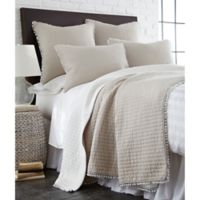 Levtex Home Niko Reversible King Quilt in Taupe
