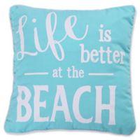 Levtex Home Kos Beach Oblong Throw Pillow in Blue