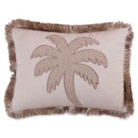 Levtex Home Kos Palm Tree Oblong Throw Pillow in Natural