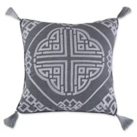 Levtex Home Sherie Medallion Square Throw Pillow in Natural