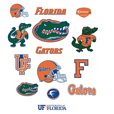 Buy University Of Florida Logo Junior Fatheads From Bed