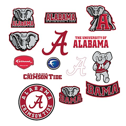 university of alabama logo junior fatheads bed bath   beyond alabama football logo pictures university of alabama logo pictures