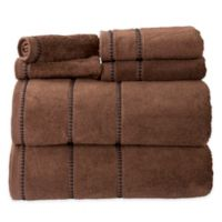 Nottingham Home 6-Piece Quick Dry Zero Twist Towel Set in Chocolate