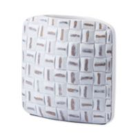 Zuo® Small Mosaic Vase in White