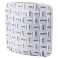 Zuo® Large Mosaic Vase in White