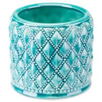Zuo® Modern Tufted Planter in Teal